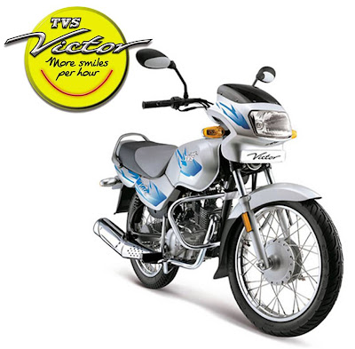 TVS Victor- More smiles per hour