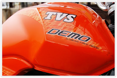 TVS Jive Demo Vehicle
