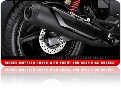Hero Honda Hunk Rear Disc  Brake
