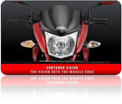 Hero Honda Hunk New Design Visor
