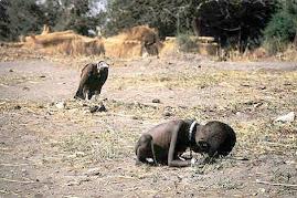 Uma imagem triste. Uma realidade pior ainda.
