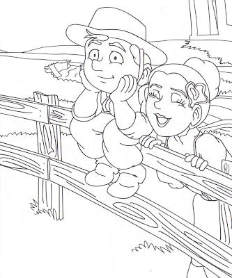gaucho+e+prenda 753407 Mais desenhos para colorir do Dia do Gaúcho para crianças
