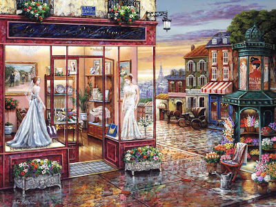 "романтичные картины Джона О'Брайена浪漫的街道約翰尼·布賴恩!""這是我們夢想的一切! - milk  - ☆ Milk ☆ 平平。淡淡。也是真。"