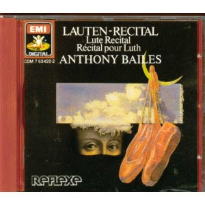 Anthony Bailes - Recital pour Luth