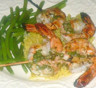 Mantia's Musings: Lemongrass Grilled Shrimp