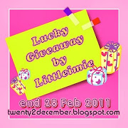 'Lucky Giveaway by Littleimie'