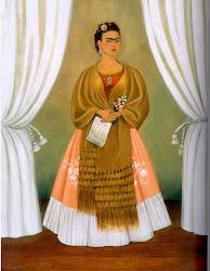 Autoretrato de Frida Kahlo