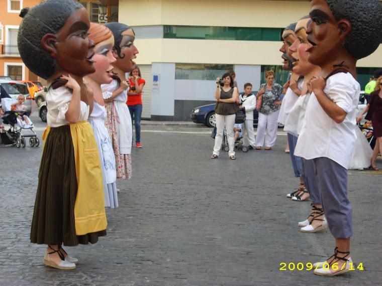 CORPUS 2009.El ball dels Caps