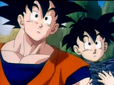 **Papá e hijo juntos**.