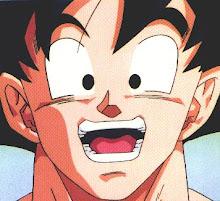 **Goku el protagonista de dragon ball,z y gt**.