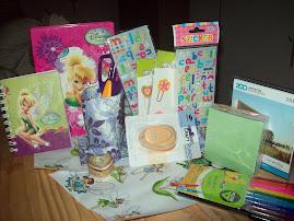 Estos regalos recibi de Lorena.