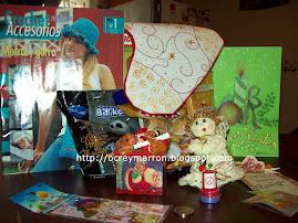 Estos regalos envié yo a españa a Evelyn
