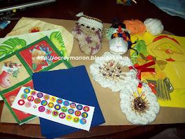 Estos regalos le envié a Celia de Perú..