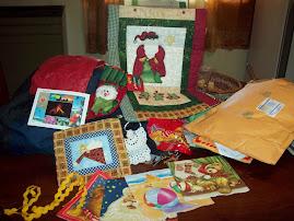 Estos regalos recibí de Arlette-Costa Rica.
