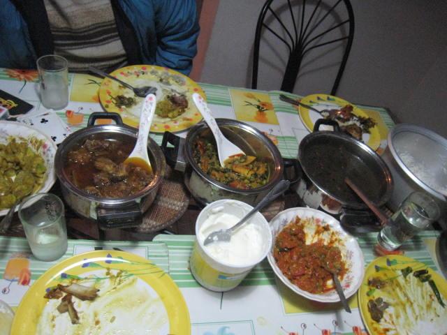 ネパールの料理