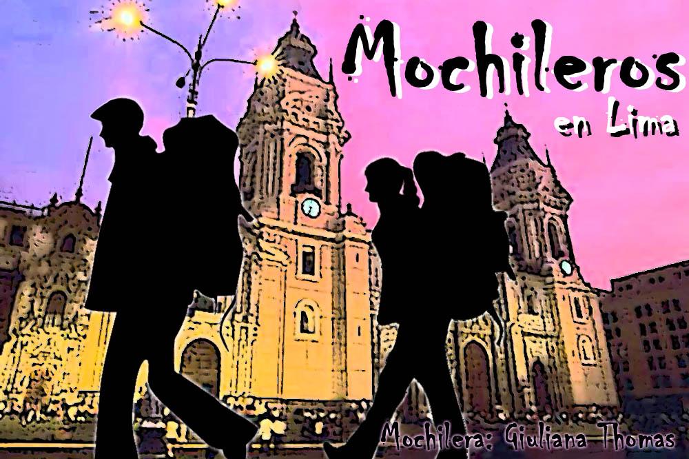 Mochileros en Lima
