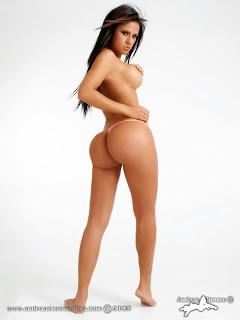 fotos de tangas modelos famosas mujeres fotosAndrea Rincon, Angelical