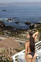 Paloma Fiuza en la Playa