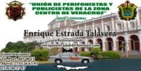 CONTRATA TU SERVICIO DE PERIFONEO A LOS SIGUIENTES TELEFONOS: 271 126 63 93 y 271 110 68 27