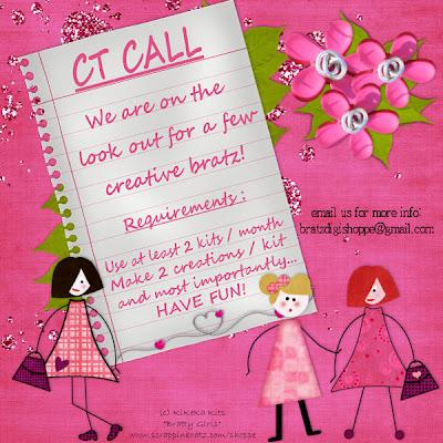 Chamada para CT Scrappin Bratz CT+Call