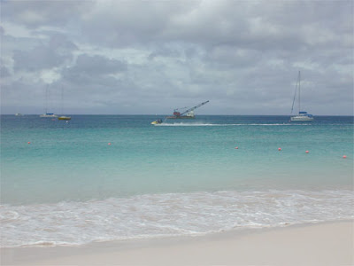 barbados beach ocean water