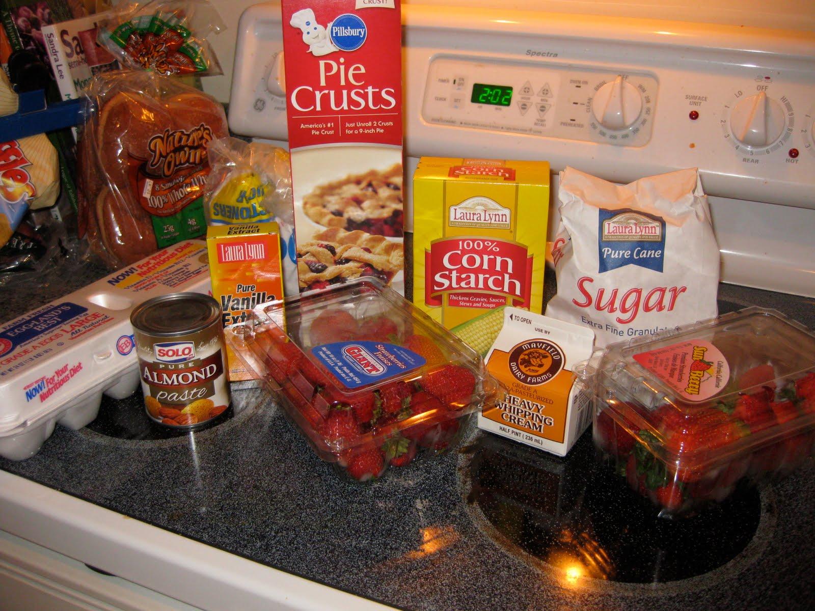 All is Wells: Stuffed Crust Strawberry Cream Pie Recipe