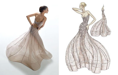 versace atelier dress