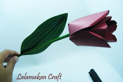 Cara Membuat Vas Bunga Dari Kertas Karton - Xpower Penghemat BBM