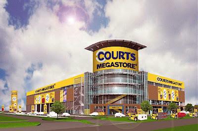 Courts Megastore Tampines Opening 16 December 2006