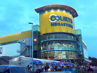 Courts Superstore Tampines Opening 16 December 2006