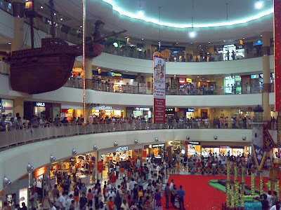 CompassPoint Shopping Mall in Sengkang