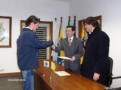 Entrega de Diplomas Curso de Primeiros Socorros