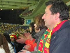 No apoio à Selecção Nacional no Portugal x Suécia