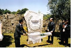 Inauguração do Monumento à Toponímia de Curvos