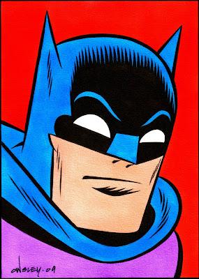 batman amp  robin original art