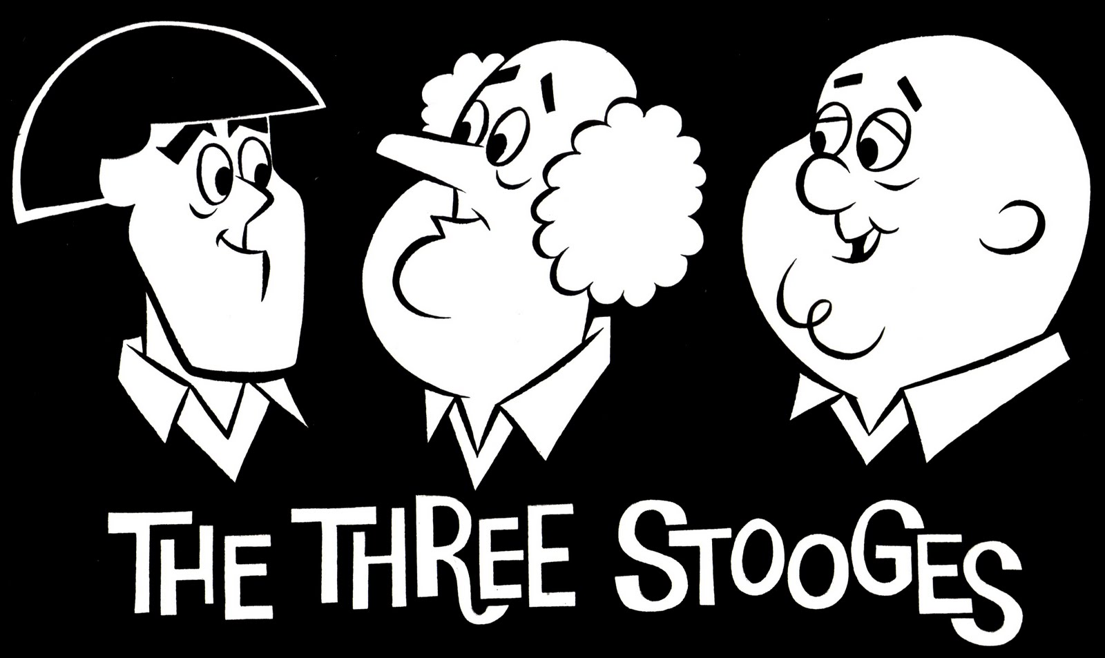 Free three stooges coloring pages for The three stooges coloring pages