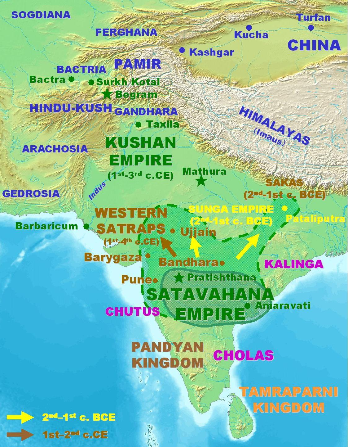 MARXIST: Satavahana Dynasty and Kharavelan Empire