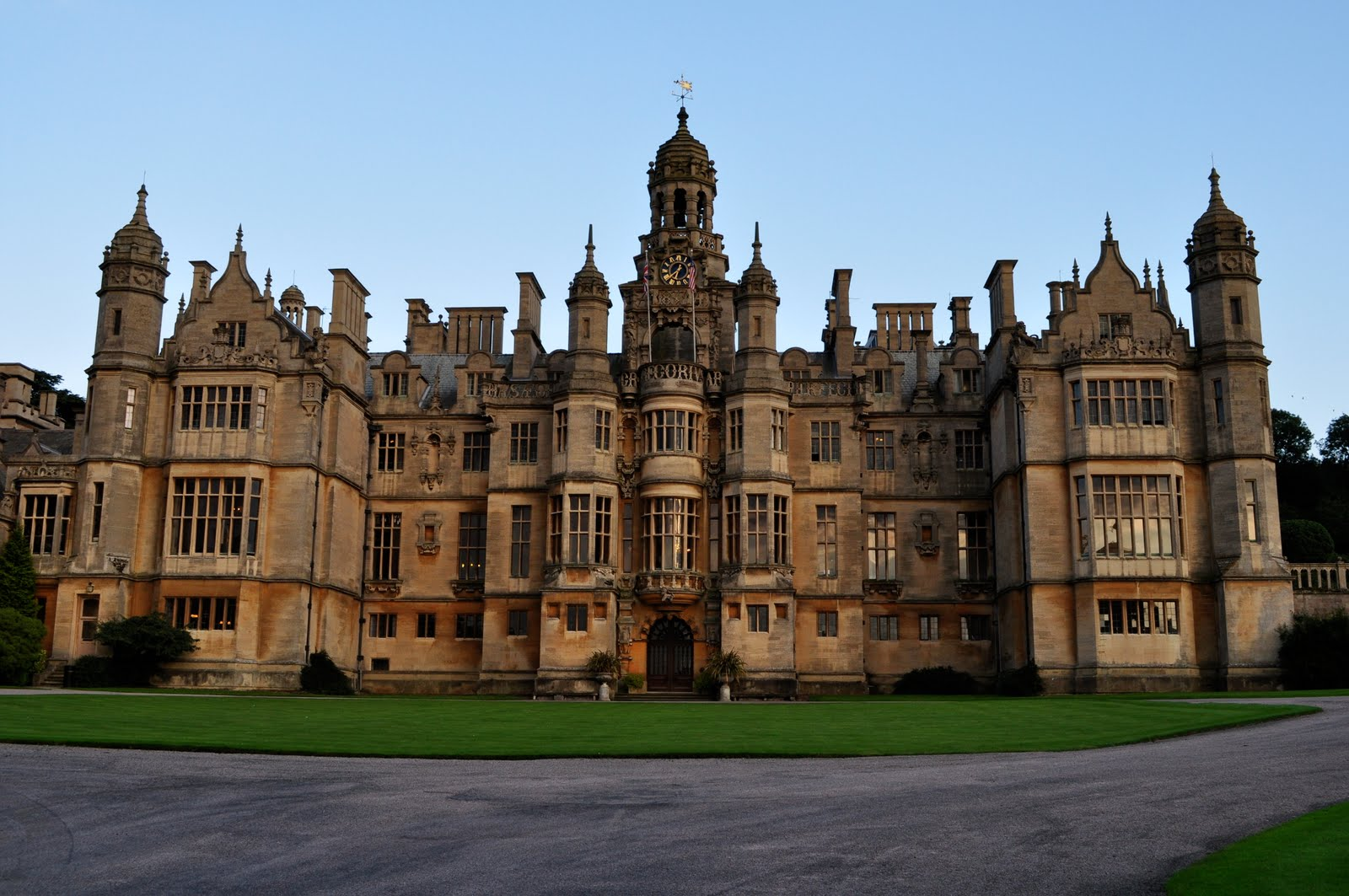 Exploring the united kingdom and beyond harlaxton manor