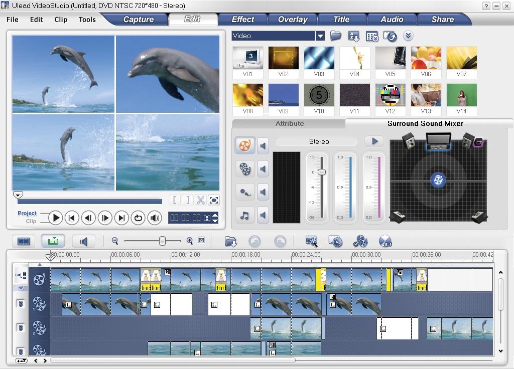 Скачать бесплатно программу ulead videostudio