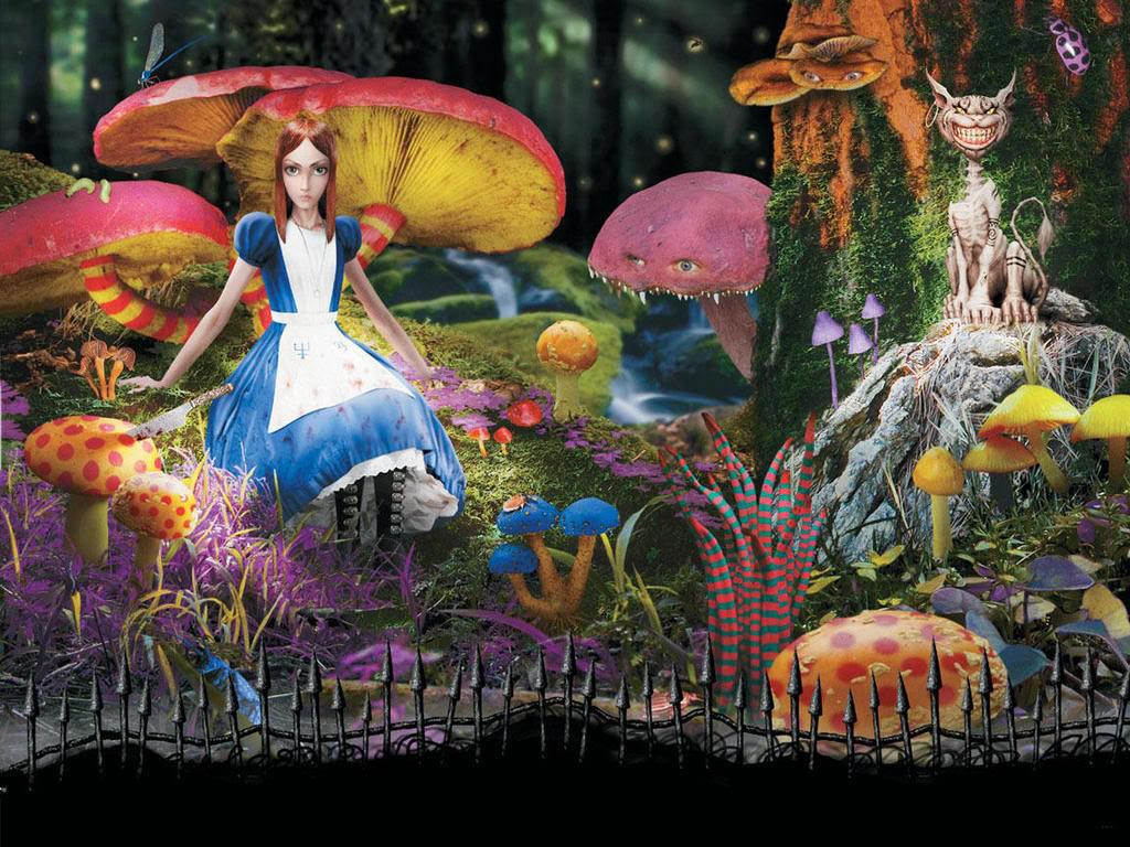 Bilinick alice in wonderland cartoon wallpaper - Free wallpaper alice in wonderland ...