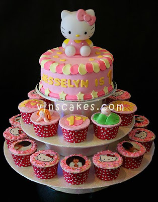 Kitty Birthday Cakes on Vin S Cakes   Birthday Cake   Cupcake   Wedding Cupcake   Bandung