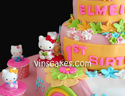 Hello Kitty 3d Cake. This Giant 3 Tiers Hello Kitty