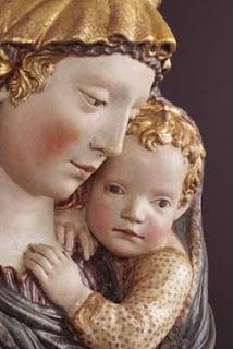 Madonna di Fiesole, particolare