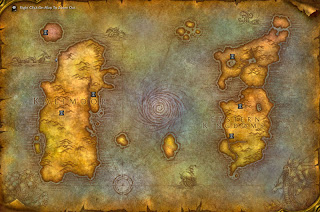 Casual wow a world of warcraft blog world of warcraft maps the original world of warcraft map gumiabroncs Choice Image