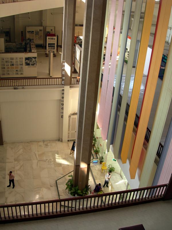 nehru centre atrium in mumbai by kunal bhatia