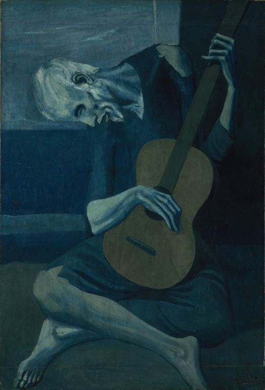 picasso paintings blue period. The painting is from Picasso#39;s