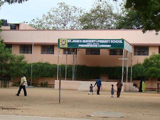 Saint Johns Nursery Primary School Presentation Convent Perambur