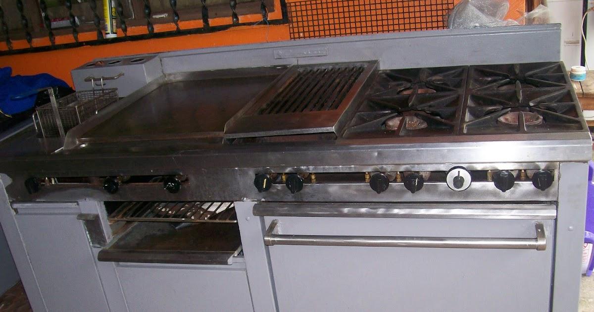 Equipos de cocina cocinas industriales for Planchas de cocina industriales de segunda mano