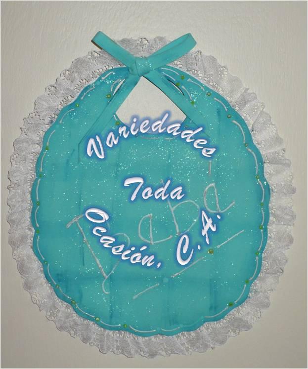 Moldes de baberos de fomi para baby shower - Imagui