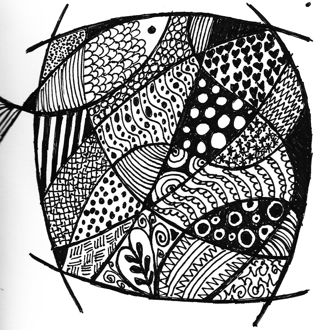 Line Art Name : About art and other stuff zentangles so there s a